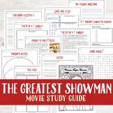 The Greatest Showman Movie Study Guide