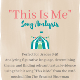 """The Greatest Showman's """"This Is Me"""" Song Analysis"""