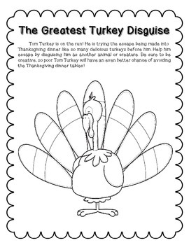 The Greatest Turkey Disguise