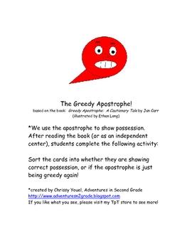 The Greedy Apostrophe Sort