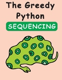 The Greedy Python by Eric Carle Sequencing Text Activity