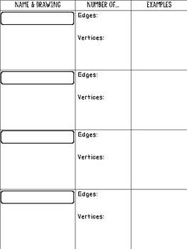 The Greedy Triangle Geometry Activity Recording Sheet