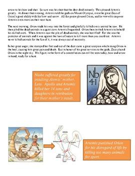 The Greek Myth of Artemis