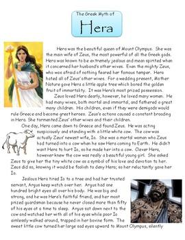 The Greek Myth of Hera