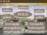 The Greek Polis - Powerpoint and Handouts