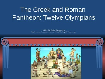 The Greek and Roman Pantheon PowerPoint