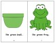 The Green Book - Guided Reading Levels aa / A
