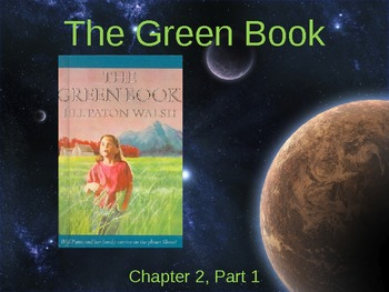 The Green Book Novel Study Chapter Two for Gifted Students