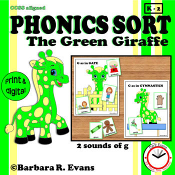 PHONICS SORT: The Green Giraffe Literacy Center