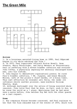The Green Mile Crossword