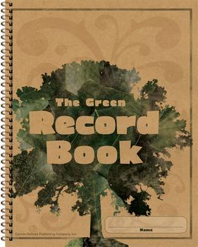 The Green Record Book Grades K-8 SALE 20% OFF 104301