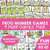 Frog Number Games