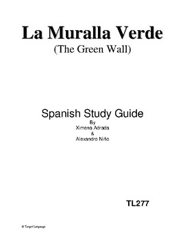 The Green Wall-Spanish Study Guide