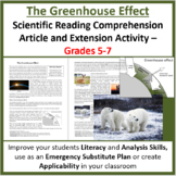 The Greenhouse Effect - Reading Article - Grades 5-7