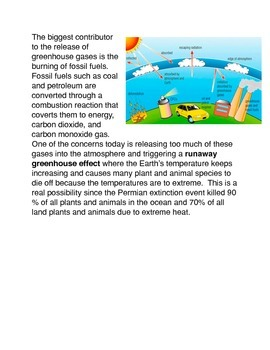 The Greenhouse effect and Acid Rain Collection