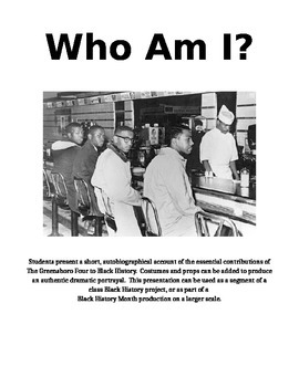 The Greensboro Four - Who Am I?