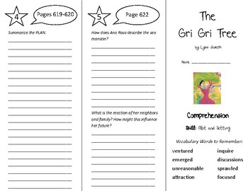 The Gri Gri Tree Trifold - Treasures 5th Grade Unit 5 Week 5 (2009)