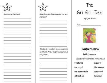 The Gri Gri Tree Trifold - Treasures 5th Grade Unit 6 Week 5 (2011)