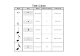 The Grid - Music Notation