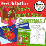 The Grinch Book Activities   Google Slides   Printable Versions