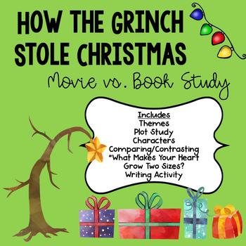 The Grinch- Book vs. Movie Study
