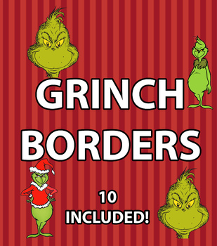 The Grinch Borders