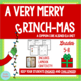 The Grinch Complete ELA Unit and Lapbook Craftivity for Grades 5-8