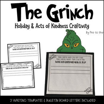 the grinch craftivity