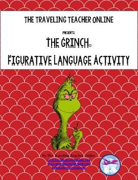 The Grinch© Figurative Language Activity
