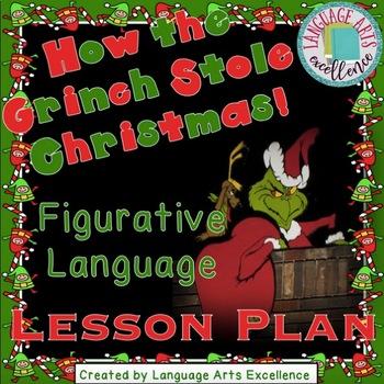 The Grinch Figurative Language Lesson Plan