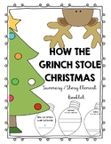 The Grinch Summary / Story Element Booklet