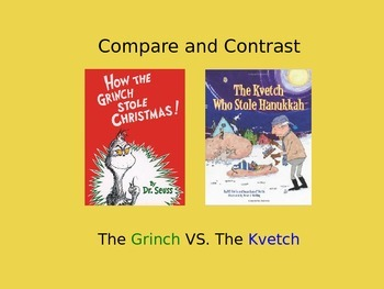The Grinch VS. The Kvetch