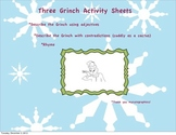 Who Stole Christmas? Language Arts Activity Packet