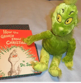The Grinch Who Stole Christmas Story Bag