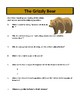 The Grizzly Bear - Reading Comprehension and Substitute Plan