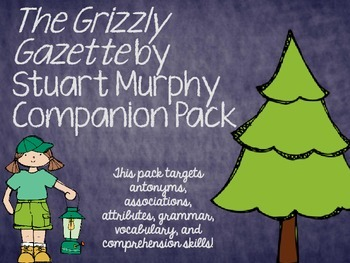"""The Grizzly Gazette"" by Stuart Murphy Companion Pack"