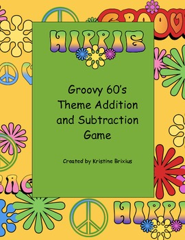 The Groovy 60s Addition and Subtraction Game to Five