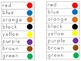 The Groovy Cat-Groovy Button Color Word Wheel