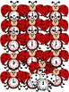 The Grouchy Ladybug-Clipart Graphics-92 images-Commercial Use