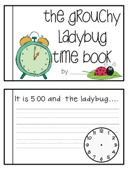 The Grouchy Ladybug {A craft and time unit}