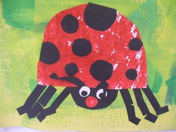 The Grouchy Ladybug Art Project