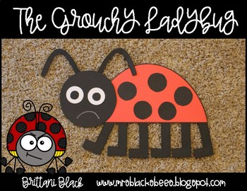 The Grouchy Ladybug Craft and Writing