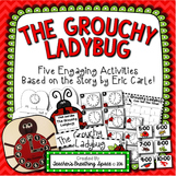Grouchy Ladybug -- Clock Craftivity, BINGO, Write the Room and More!