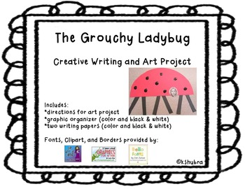 The Grouchy Ladybug - Creative Writing and Art Project