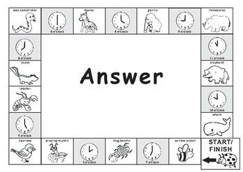 The Grouchy Ladybug-Game Board