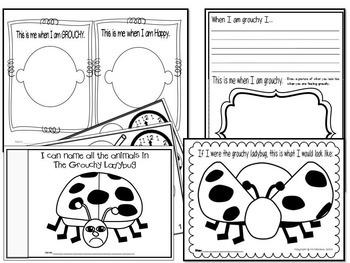 The Grouchy LadybugLesson Plan