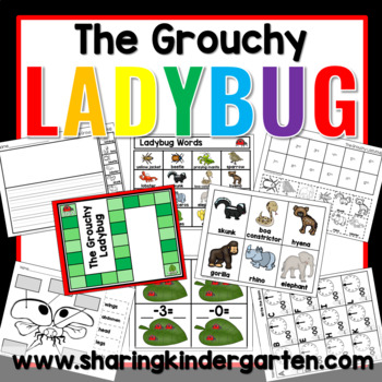 The Grouchy Ladybug {Unit}