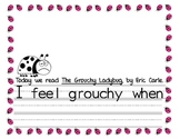 The Grouchy Ladybug Writing Response