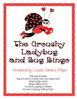 The Grouchy Ladybug and Bug Bingo Pack