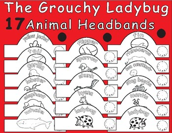 The Grouchy Ladybug by Eric Carle-Animal Headbands